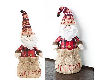 Weihnachtsmann-Türstopper,