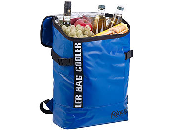 Lkw-Planen-Kühlrucksack, abwaschbar, wasserabweisend, 16 l
