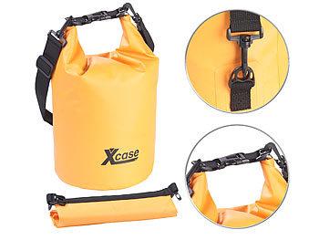 Wasserdichter Packsack, strapazierfähige Industrie-Plane, 10 l, orange / Dry Bag