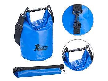 Wasserdichter Packsack, strapazierfähige Industrie-Plane, 5 l, blau / Packsack