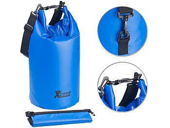 Wasserdichter Packsack, strapazierfähige Industrie-Plane, 20 l, blau / Packsack