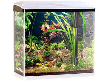 sweetypet aquarium komplettset nano aquarium komplett set mit led beleuchtung pumpe filter. Black Bedroom Furniture Sets. Home Design Ideas
