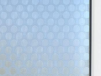 infactory blickdichte fensterfolie sichtschutz folie punkte statisch haftend 40x200 cm. Black Bedroom Furniture Sets. Home Design Ideas