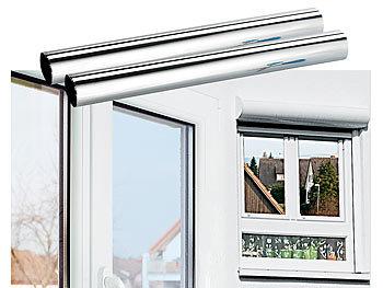 infactory isolierfolie 2er set isolier spiegelfolie sicht uv schutz selbstklebend 40x200cm. Black Bedroom Furniture Sets. Home Design Ideas