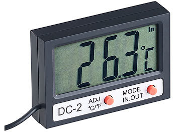 LCD-Thermometer Aquarien