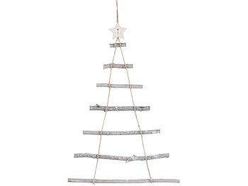 britesta weihnachtsbaum holz deko holzleiter in. Black Bedroom Furniture Sets. Home Design Ideas
