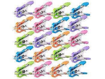 60 Stück Wäscheklammer starker Halt moderne Farben Wäsche Klammer aufhängen