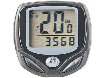 Digitaler 15in1-Fahrrad-Computer mit kabellosem Funk-Radsensor, LCD / Fahrradcomputer