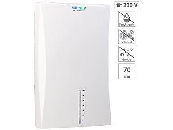 Sichler Haushaltsgeräte Elektrischer Luftentfeuchter, bis 600 ml pro Tag, fÃr Räume bis 25 mSichler Haushaltsgeräte Elektrische Luftentfeuchter mit Lufterfrischer-Funktionen