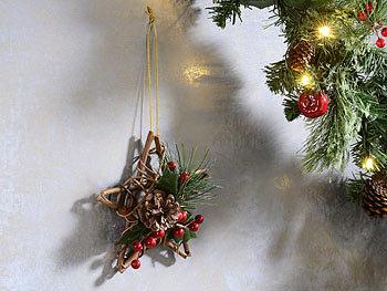 britesta h ngedeko weihnachten handgefertigter rattan dekostern mit echten tannenzapfen 15. Black Bedroom Furniture Sets. Home Design Ideas