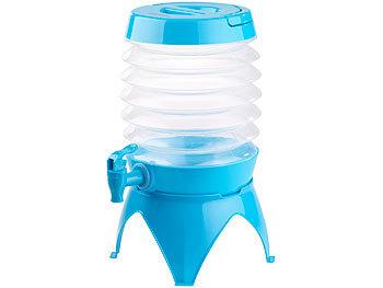 Pearl Wasserspender Faltbares Fässchen Auslaufhahn