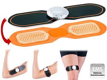 Arme PEARL sports 3-teiliges EMS-Muskeltrainer-Set für Bauch Beine /& Taille