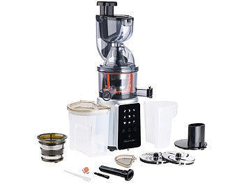 rosenstein s hne 3in1 slow juicer entsafter mit gem se reibe eis aufsatz 200 watt. Black Bedroom Furniture Sets. Home Design Ideas