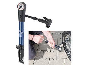 Mini Fahrrad Luftpumpe Ventil Reifen Ball Bicycle Pumpe 3 Adapter und Halterung