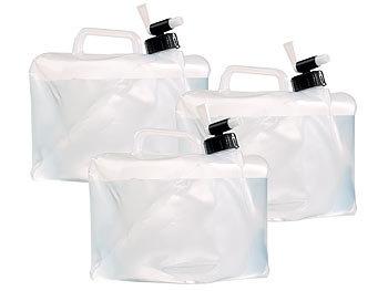 semptec falst wasser fass faltbare wasserkanister mit zapfhahn 5 liter 3er set kanister. Black Bedroom Furniture Sets. Home Design Ideas