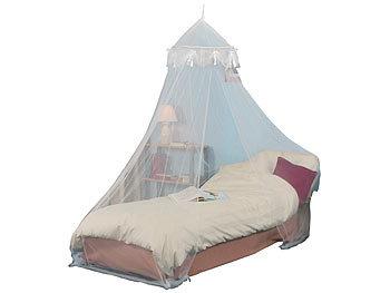 infactory moskitonetz bett moskitonetz f r einzelbetten 225 mesh wei gute luft zirkulation. Black Bedroom Furniture Sets. Home Design Ideas