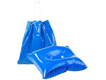 2in1-Strandtasche und aufblasbares Schwimmkissen, 31 x 33 cm / Sitzkissen