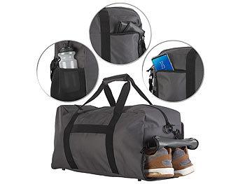 Sport- & Reisetasche, 4 Aussenfächer, Schmutzwäsche-/Schuhfach, 40 l / Sporttasche