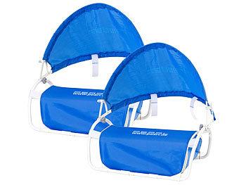 Nacken-Kissen mit Sonnenschutz für Strand und Outdoor 2er-Set / Sonnenschutz