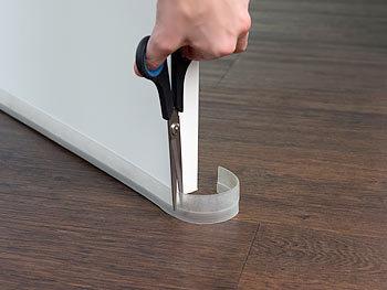 infactory dichtungsband 8er set transparente zugluft stopper selbstklebend 100 x 2 8 cm. Black Bedroom Furniture Sets. Home Design Ideas