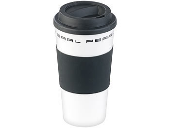 pearl kaffebecher coffee to go becher mit deckel 475 ml doppelwandig bpa frei isolierbecher. Black Bedroom Furniture Sets. Home Design Ideas