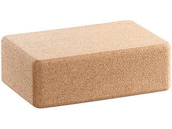 Yoga-Block aus ökologischem Natur-Kork, 22,7 x 7,6 x 14,9 cm / Yoga Block