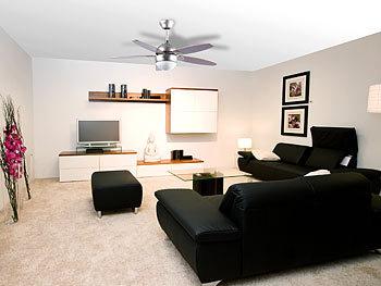 ... Sichler Haushaltsgeräte Deckenventilator VT 597 Mit Holzflügeln Und  Beleuchtung, Ø 92 Cm Sichler Haushaltsgeräte ...