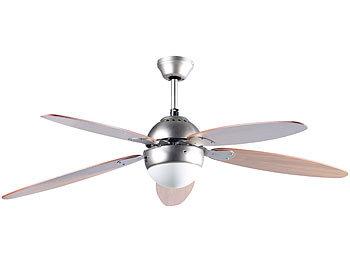 Sichler Ventilator Decke Licht: Deckenventilator mit