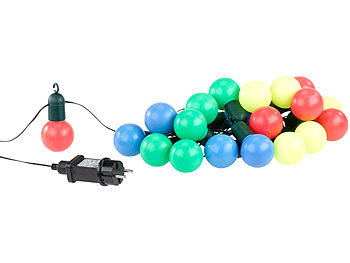 Party-Lichterkette LED Outdoor
