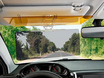 Lescars Autoblende: Tag & Nacht Blendschutz für die Auto