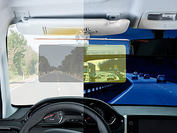 Profi Auto Blendschutz TagNacht in Auto Sonnenblende Blendschutz für Tag/&Nacht