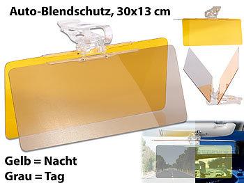 30 x 13 cm /& Nacht-Blendschutz f/ür die Auto-Sonnenblende Tag Lescars Blendschutzfolie Auto Blendschutz Auto Frontscheibe