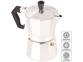 500 W Ø 10 cm Elektrische Mini-Einzel-Kochplatte mit Espresso-Kocher