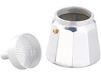 500 W Elektrische Mini-Einzel-Kochplatte mit Espresso-Kocher Ø 10 cm