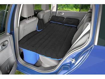 lescars autobett aufblasbares bett f r den auto r cksitz mit 12 volt luftpumpe auto luftbetten. Black Bedroom Furniture Sets. Home Design Ideas
