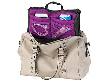 Xcase Handtaschen Organizer Mit 13 Fächern, 26 X 16 X 8 Cm, Waschbar ...
