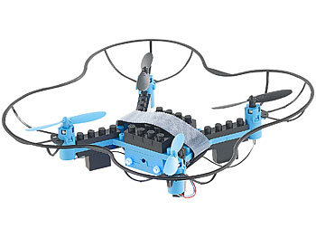Drone with RC Flight Remote Controller