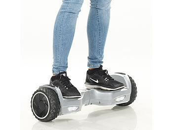 "Speeron 2in1-Elektro-Scooter und Kart XL-910.duo, 7""-Räder, 600 W, bis 100 kg Speeron 2in1-Elektro-Scooter und Kart"