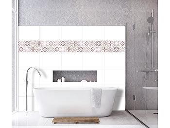 infactory fliesensticker selbstklebende 3d bord re fliesenaufkleber 29 5 x 19 5 cm 3er set. Black Bedroom Furniture Sets. Home Design Ideas