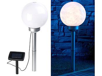 lunartec solar led leuchtkugeln solar led leuchtkugel mit rotierendem licht effekt erdspie. Black Bedroom Furniture Sets. Home Design Ideas