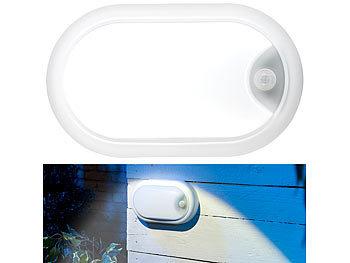 Luminea Garagenlicht: LED Feuchtraumleuchte, Bewegungssensor