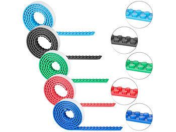 5er-Set selbstklebende Spielbaustein-Tapes für gängige Systeme, je 1 m / Spielzeug