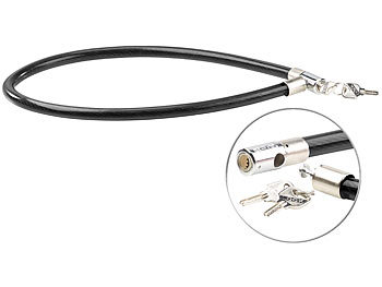 Bügelschloß Schlüsselfrei Kabelschloß Fahrrad Sicherheits SET Stahlseil-Schloß