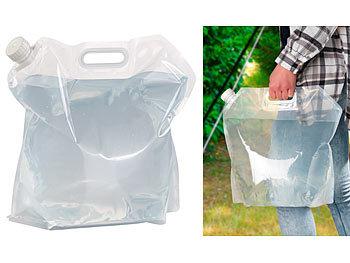 3er-Set 5 Liter Wassertank faltbar Faltbare Wasserkanister mit Zapfhahn