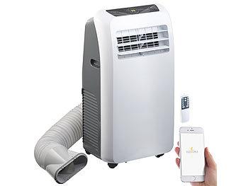 Mobile Klimaanlage, 9.000 BTU/h, 2.600 Watt, WLAN & App-Steuerung / Klimaanlage