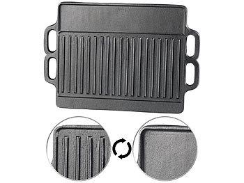 2er Pack BBQ Aluminium Servierplatte zum Grillen//Kochen 34 x 23 cm ca