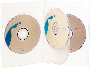cd dvd soft h lle f r 4 dvds 50er set transparent. Black Bedroom Furniture Sets. Home Design Ideas
