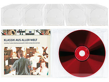 pearl cd h lle cd jewel boxen im 50er set klares tray cd slimcase. Black Bedroom Furniture Sets. Home Design Ideas