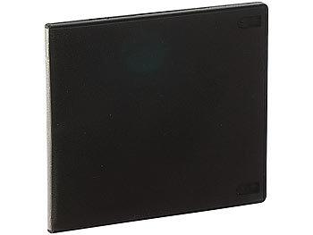 pearl cd h llen doppel cd slim soft boxen im 50er set 7 mm schwarz cd cases. Black Bedroom Furniture Sets. Home Design Ideas