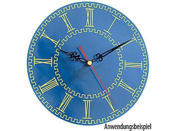 Ecloud Shop Uhrwerk mit 3 Zeigers/ätzen 3 Zeiger wei/ß rot DIY Uhr Wartung NEU